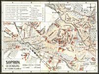 Sopron térképe 1911