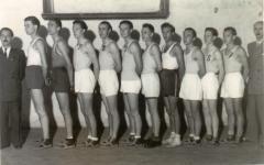 Soproni válogatott kosárlabdázók 1948-ban