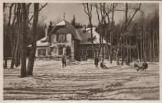 Szánkópálya a Hatvan Ferenc Turistaház mellett