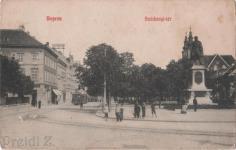 Széchenyi téri életkép a 20.század elejéről