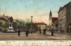 Képeslap a Széchenyi térről