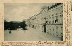 Széchenyi téri részlet a Horváth-házzal