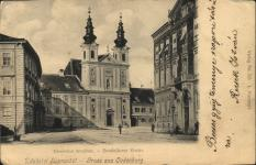 Széchenyi téri részlet a Várkerület felől