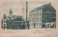 A Széchenyi tér egy részlete