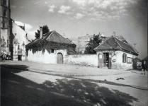 Szent Mihály utcai részlet az 1950-es évekből