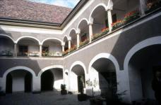 A Bányászati Múzeum udvara