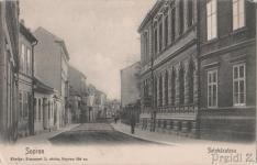 A Színház utca korabeli képeslapon