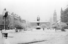 Tél a Széchenyi téren