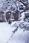 Tél a Lenck-villa kertjében