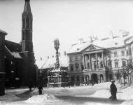 A Fő tér 1918-ban