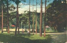 Az Erzsébet-kert az 1910-es években