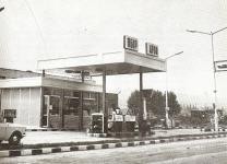 Benzinkút a Győri úton