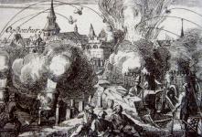 Vak Bottyán Sopron ellen - Korabeli metszet