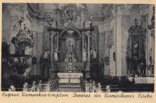 A Domonkos-templom oltára