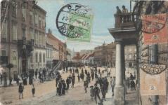 Várkerületi nyüzsgés az 1900-as évek elején