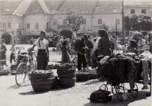 Várkerületi piac az 1930-as években