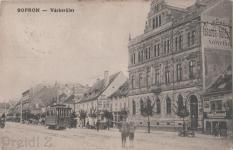 Várkerületi részlet a későbbi Árpád utcánál