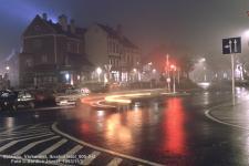 Éjszakai felvétel a Várkerületről