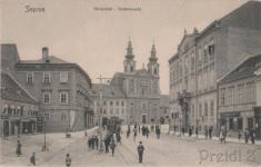 """Várkerület""""nyüzsgés"""" az 1900-as évek elején"""