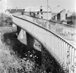Vasúti felüljáró a Batsányi utcában 1969-ben