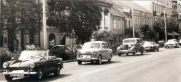 Veteránautók a Várkerületen 1991-ben