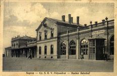 A régi vasútállomás
