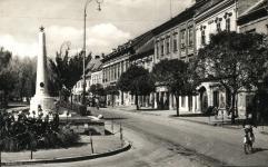 A Várkerület az egykori szovjet emlékművel