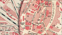 Sopron bombázása - Belváros