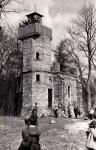 A Muck-kilátó kőépülete 1959-60 táján