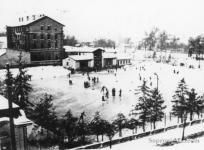 Az egykori Bakter korcsolyapálya, mely nevét a közeli vasúti őrházról kapta