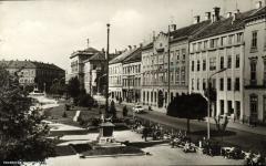 Látkép a Széchenyi térről