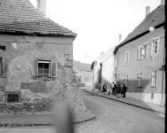 A Rózsa utca egy részlete