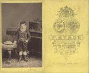 Vizitkártya 1870 körül