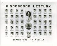 Lackner Kristóf Általános Iskola Kisdobosok lettünk 1982. 1.C osztály