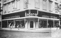 A Lederer testvérek üzlete 1940-ben