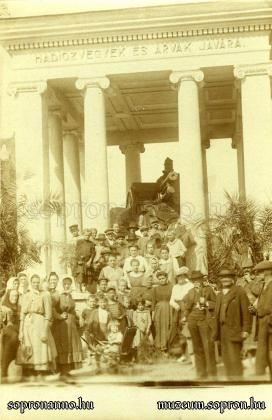 A Vaságyú a Széchenyi téren