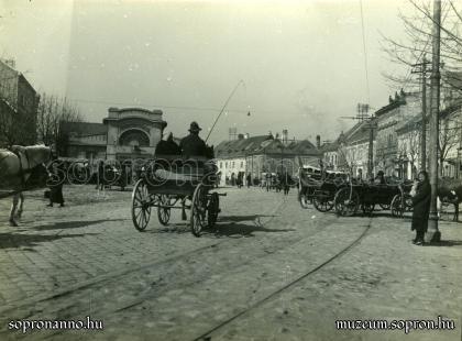 A Várkerület 1925 körül