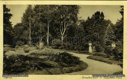Az Erzsébet-kert egy részlete