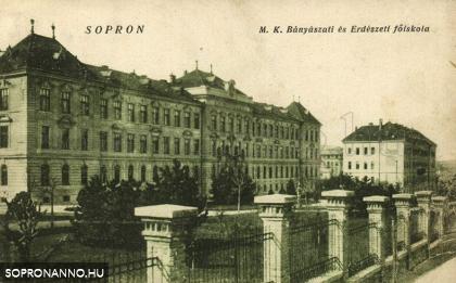 Magyar Királyi Bányászati és Erdészeti Főiskola