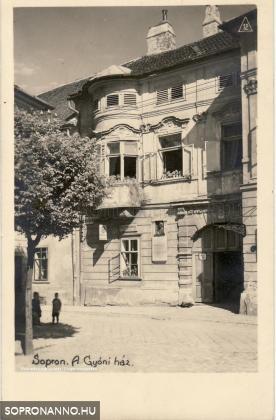 A Gyóni-ház