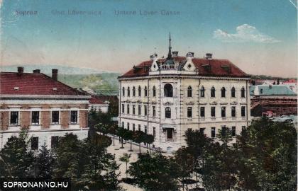 Az Alsólövér utca és az egykori Márkus-ház