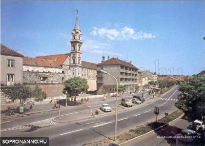 A Bástya tér és környéke