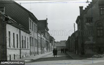 Életkép a Mező utcából - az eredeti fotó