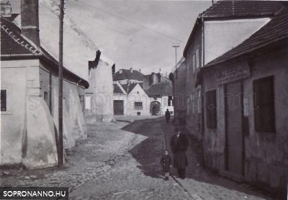 A Rózsa utca egykor
