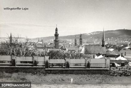 Téli látkép Sopronról