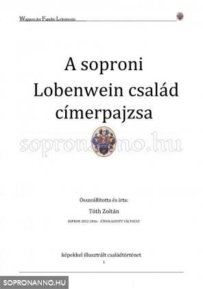 A soproni Lobenwein család címerpajzsa