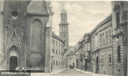 A Templom utca eleje