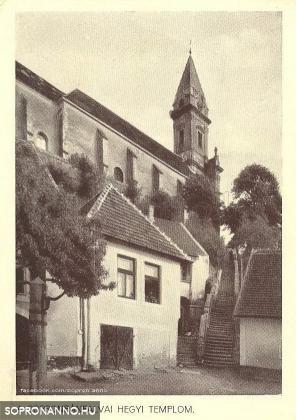A sopronbánfalvi templom