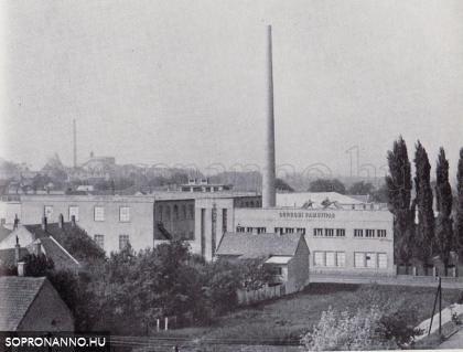 A Pamutipari Vállalat épülete