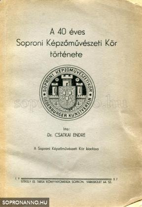 A 40 éves Soproni Képzőművészeti Kör története